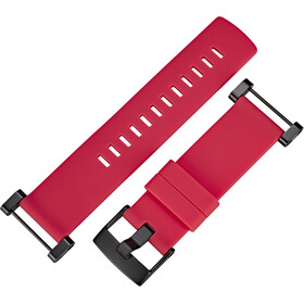 Suunto Core Flat Silicone Strap, crush red